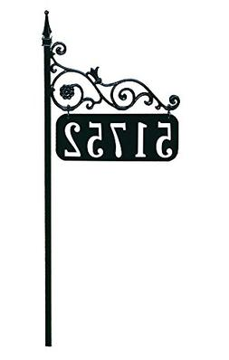 Address America Yard Sign  Black