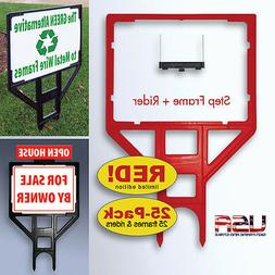 yard sign frame 25 pack limited edition