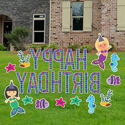 yard sign lawn decorations birthday