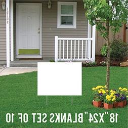 VictoryStore Yard Sign Outdoor Lawn Decorations: Corrugated