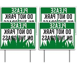 """VictoryStore Yard Sign Outdoor Lawn Decorations """"Please Do N"""