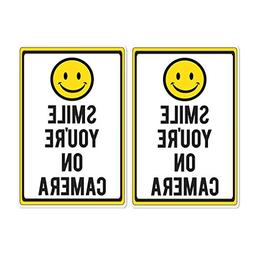 VictoryStore Yard Sign Outdoor Lawn Decorations: Smile You'r