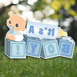 "VictoryStore Yard Sign Outdoor Lawn Decorations,""It's a Boy!"