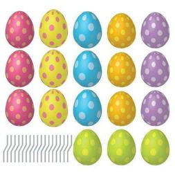 VictoryStore Yard Sign Outdoor Lawn Decorations: Easter Egg