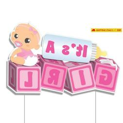 Victorystore Yard Sign Outdoor Lawn Decorations, It'S A Girl