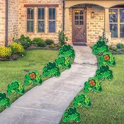 VictoryStore Yard Sign Outdoor Lawn Decorations: Shamrock Pa