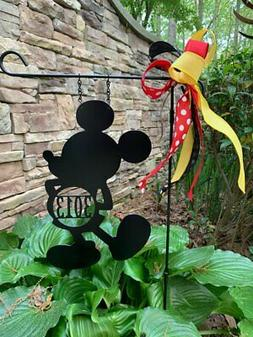 Your Mouse - Custom Mickey Mouse-Inspired ADDRESS # Yard/Gar
